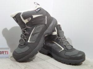 Мужские зимние ботинки Salomon Madawaska TS GTX (327102) серые