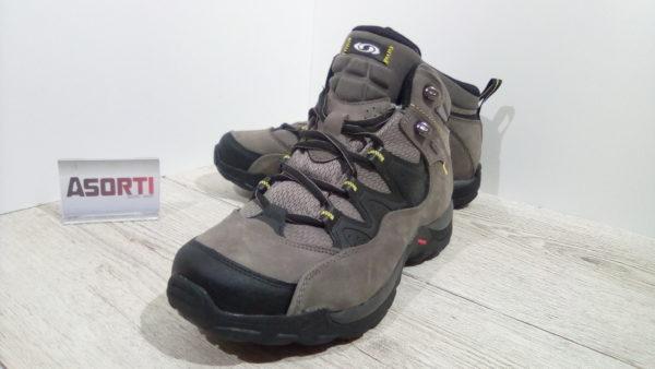 Мужские треккинговые ботинки Salomon Elios MID GTX 3 (128435) серые