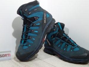 Мужские треккинговые ботинки Salomon Quest 4D 2 GTX (379472) синие