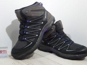 Мужские треккинговые ботинки Salomon Buckley GTX (369621) черные