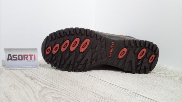 Мужские утепленные ботинки Merrell Talik (J311532C-0817) коричневые