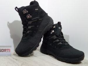 Мужские зимние ботинкиMerrell Moab Polar (J41917-0617) черные