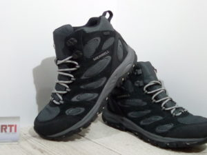 Мужские ботинки Merrell Tucson Mid Waterproof (J41805-0713) серые