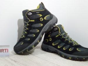 Мужские ботинки Merrell Ridgepass Mid Waterproof (J227169C-1014) черные