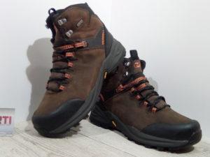 Мужские ботинки Merrell Phaserbiund WP (J32745-0617) коричневые