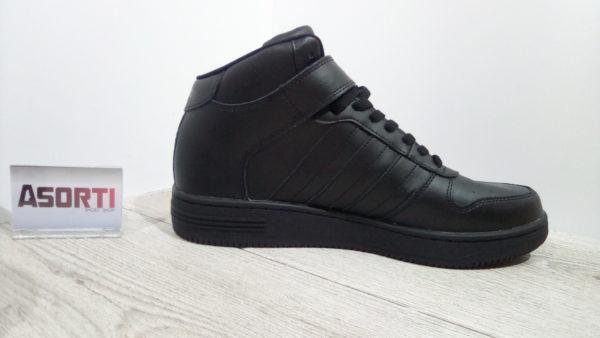 Мужские баскетбольные кроссовки Adidas Team Court Mid (B74598) черные