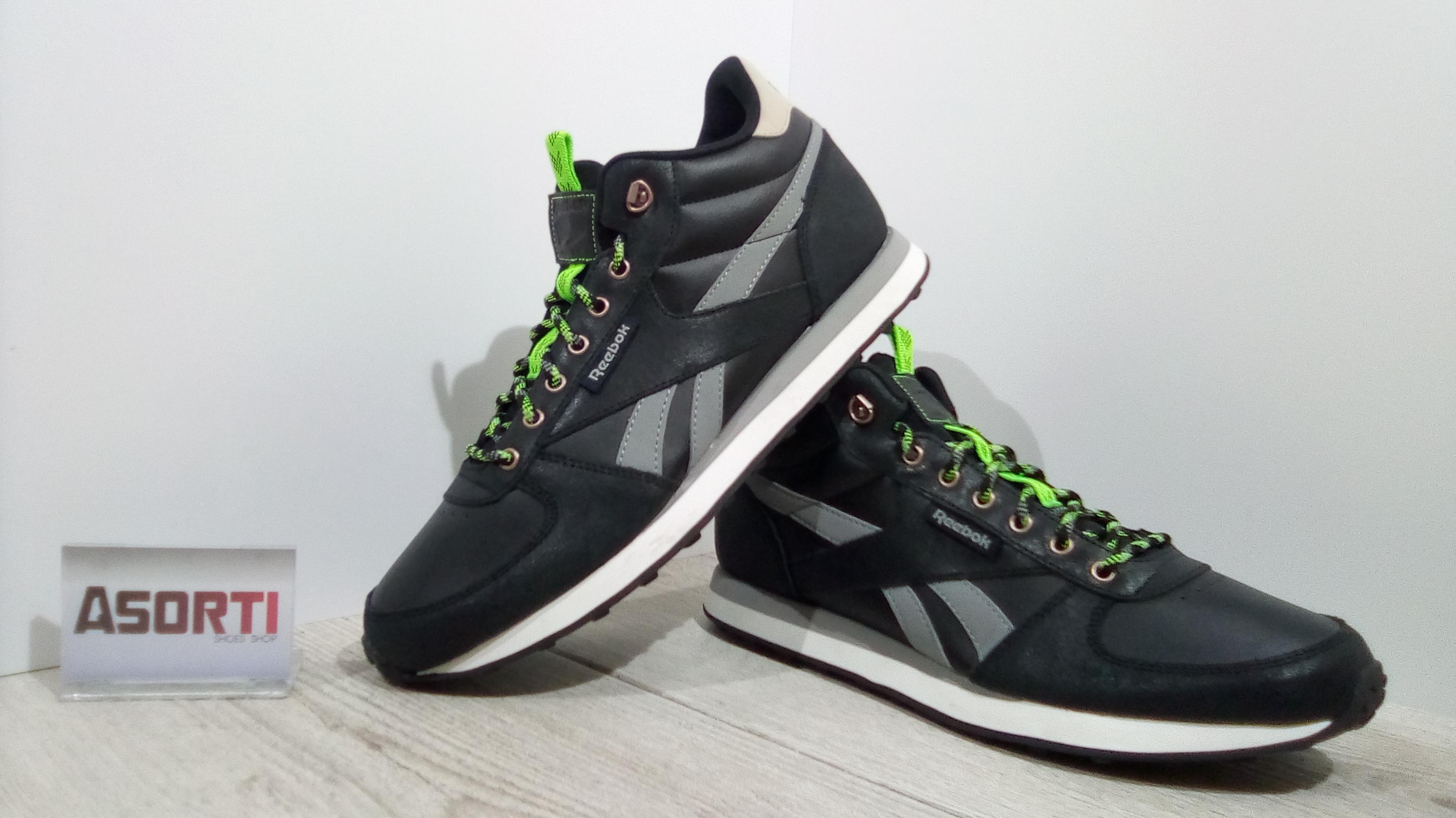 Мужские кроссовки Reebok Royal Classic Jogger WLD M (AR0548) черные ... dcc34077db245