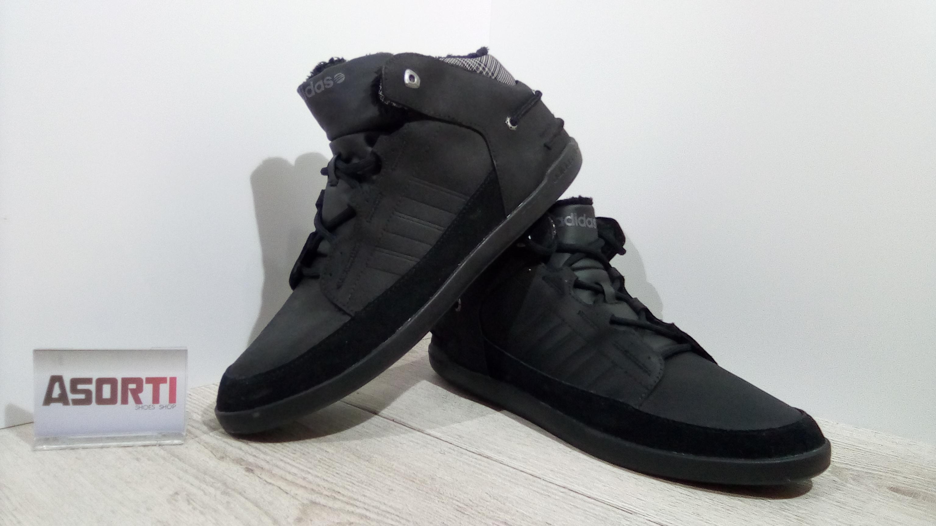 dcf78602 Мужские зимние кроссовки Adidas Neo (G53020) черные купить в Украине ...