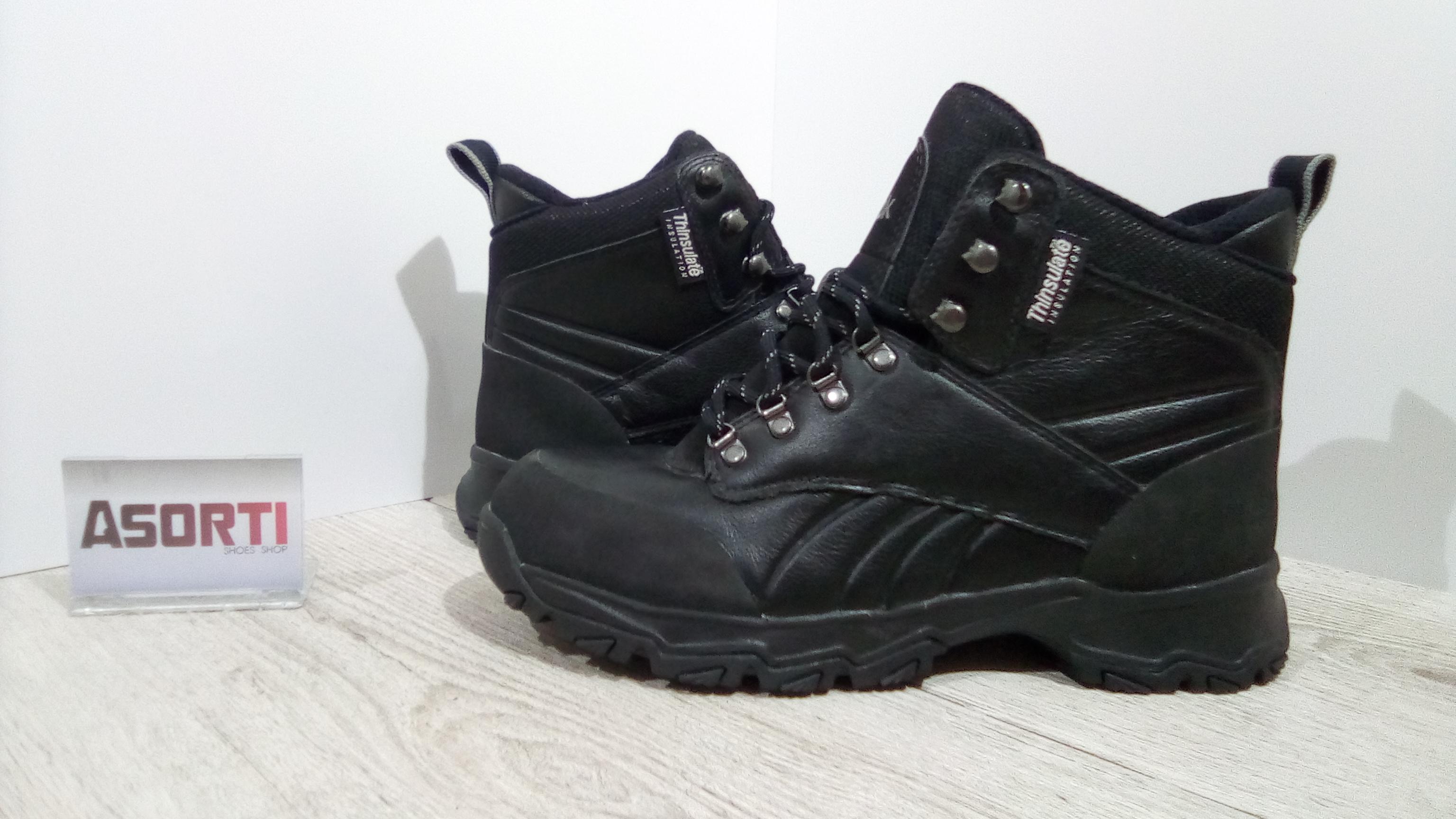 4e615baf Мужские утепленные ботинки Reebok Crestview TR II (J16890) черные ...