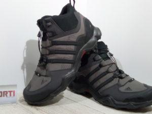 Мужские кроссовки для туризма Adidas Terrex Swift R MID (S80308) темно-серые