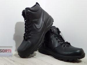 Мужские демисезонные ботинки Nike Manoa Leather (454350-003) черные