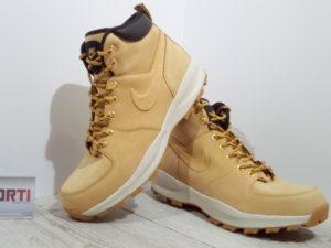 Мужские демисезонные ботинки Nike Manoa Leather (454350-700) бежевые