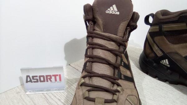 Мужские кроссовки для походов Adidas Performance AX 1 MID LEA (G60137) коричневые