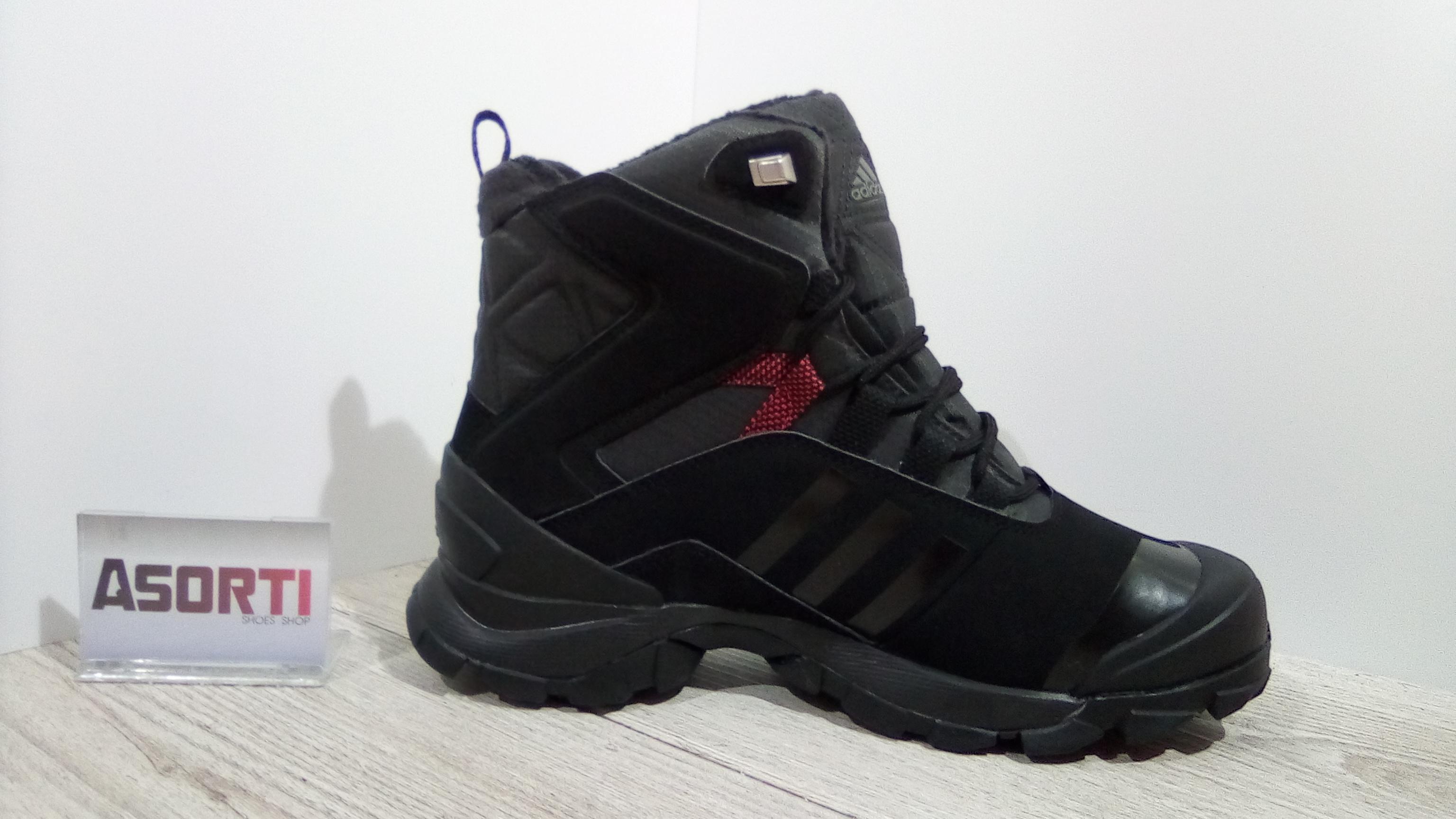 f1a59d12 ... Мужские зимние ботинки Adidas Winter Hiker Speed CP PL (V22179) черные  ...