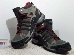 Мужские зимние ботинки Adidas Flint 2 Mid CP (U42688) серые