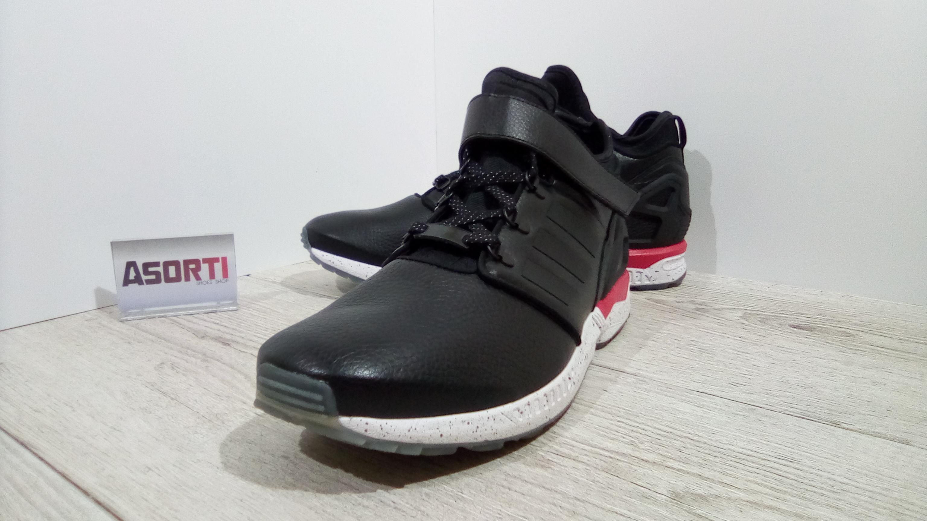 dac8a3962 ... Мужские кроссовки Adidas ZX Flux NPS MID Winter (S81642) черные ...