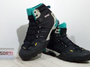 Мужские кроссовки для туризма Adidas Terrex Scope High GTX (AF5957) черные