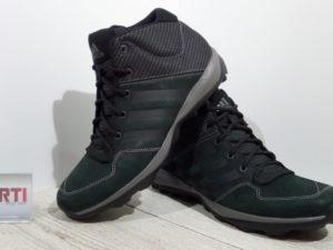 Мужские кроссовки Adidas Daroga Plus MID LEA (B27276) черные