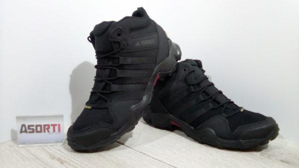 Мужские туристические кроссовки Adidas Terrex AX2R MID GTX (CM7697) черные