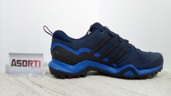 Мужские кроссовки для туризма Adidas Terrex Swift R2 GTX (CM7494) темно-синие