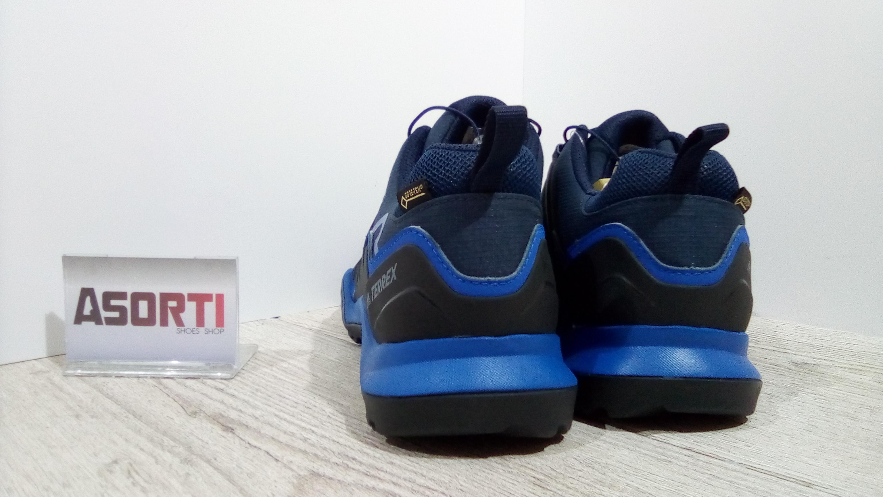 f3cab052c12b95 Мужские кроссовки для туризма Adidas Terrex Swift R2 GTX (CM7494) темно-синие  ...