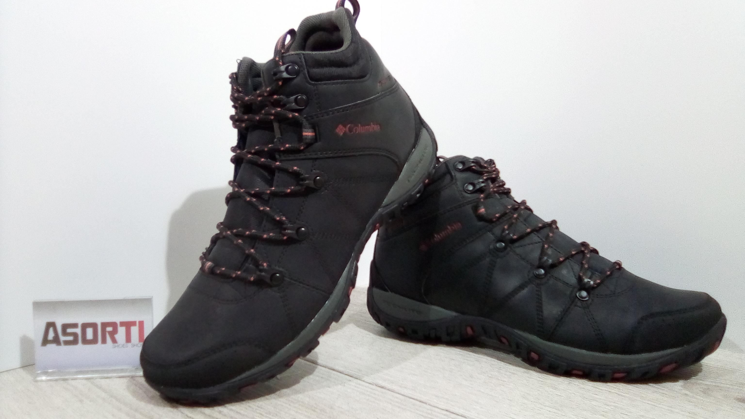 Мужские зимние ботинки Columbia Peakfreak Venture (BM3991-010) черные 5ab7a6ca410