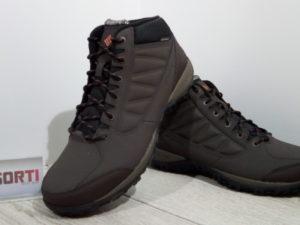 Мужские треккинговые ботинки Columbia Ruckel Ridge Chukka WP (BM5524-231) коричневые