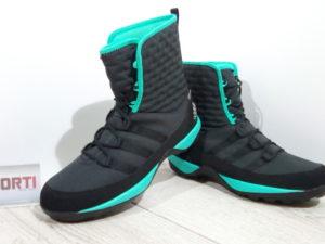 Женские зимние ботинки Adidas CW Libria Pearl CP K (AQ4133) черные