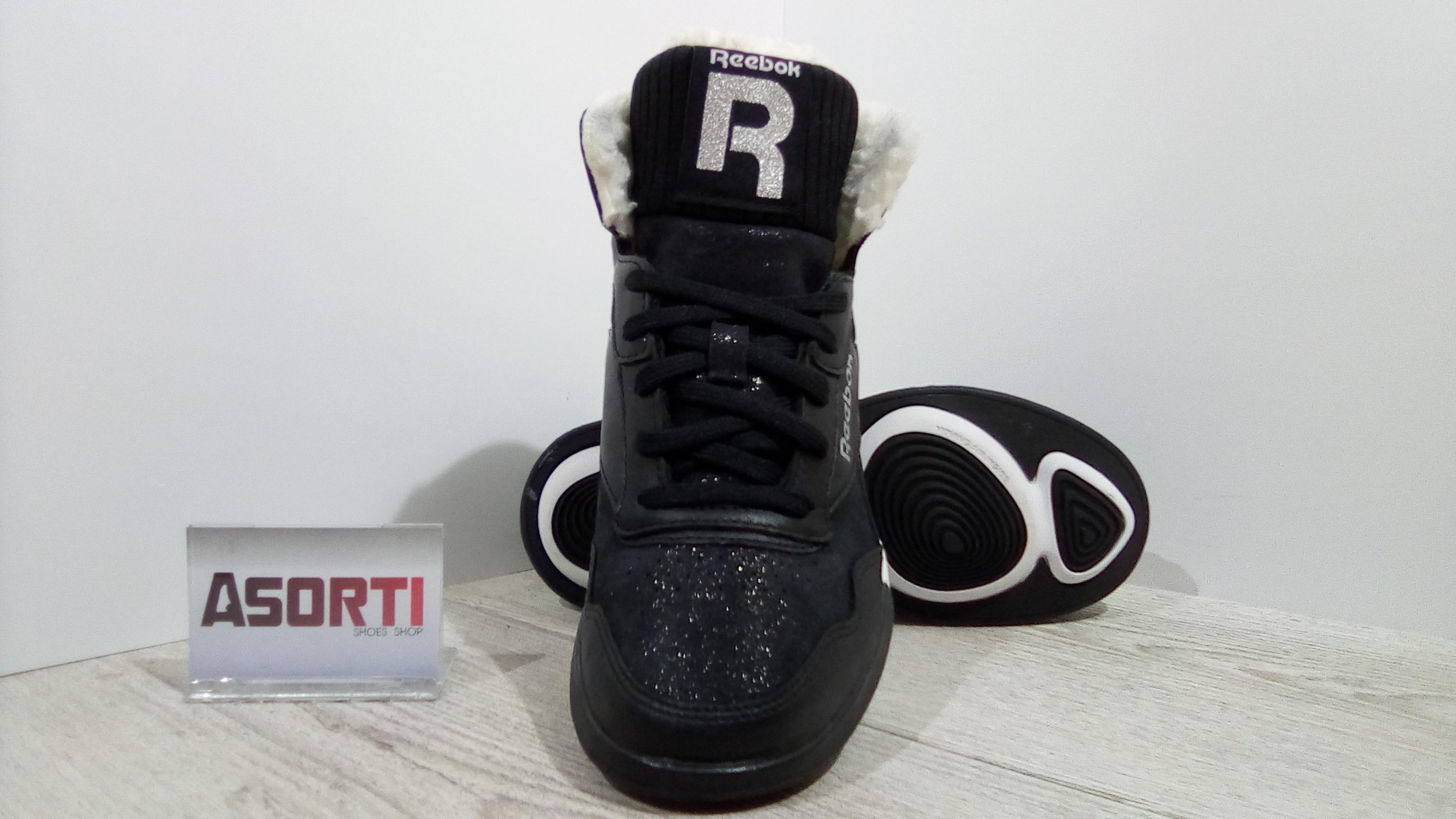 6b1591ff0adf Женские зимние кроссовки Reebok Easytone Rockeasy (V65415) черные ...