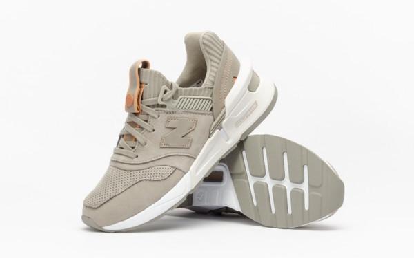 кроссовки New Balance (WS997ALB) серые