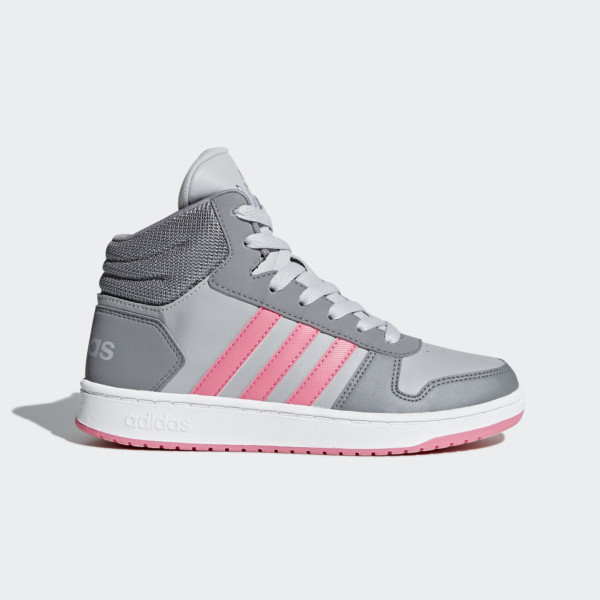 кроссовки Adidas Hoops 2.0 Mid K (DB1952)