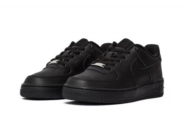 кроссовки Nike Air Force 1 Low (GS) Black (314192-009)